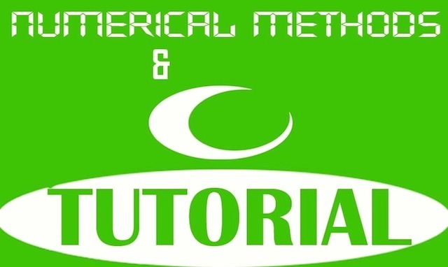 Numerical Methods Tutorial