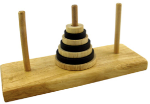 Tower of Hanoi Algorithm and Flowchart