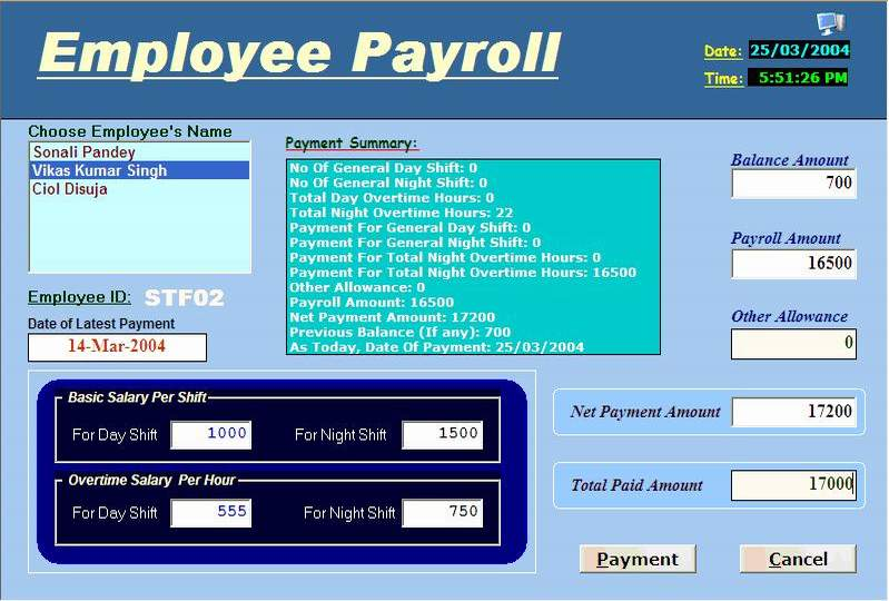 software requirement specification of college payroll system project Plain text is used where you might insert wording about your project  the  following subsections of the software requirements specifications (srs)   business application that interfaces with the existing employee payroll system,  what is the.