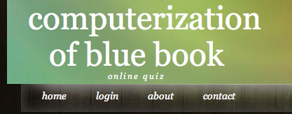 Online Quiz System Project in Java