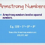 Armstrong Number in C Program Source Code