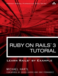 Ruby on Rails 3 Tutorial Michael Hartl pdf Download