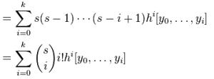 Newton's Forward Interpolation in MATLAB - Formula