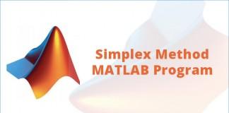 Simplex Method MATLAB Program