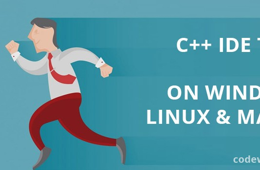 C++ IDE that run on all platforms like Windows, Linux & MacOS