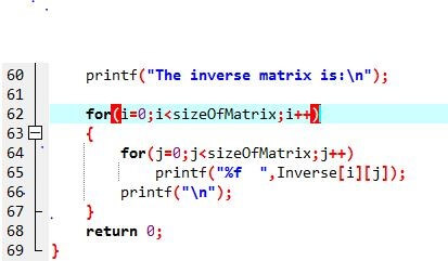 c-program-gauss-jordon-method-find-inverse-matrixc4