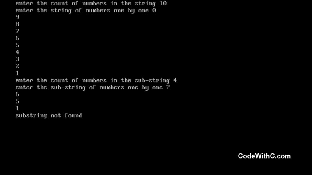 c-program-for-pattern-matching-5