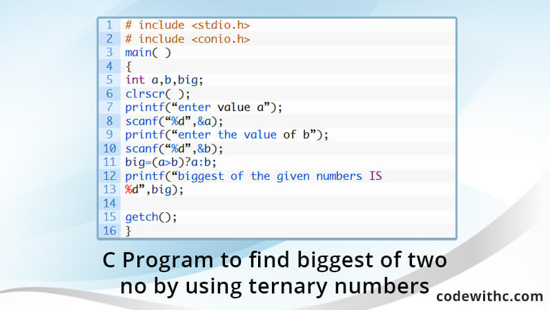 c-program-find-biggest-two-no-using-ternary-numbers