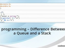 C-programming-Difference-Between-a-Queue-and-a-Stack
