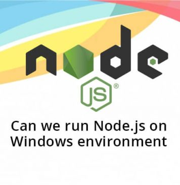 How to run Node.js on Windows environment?