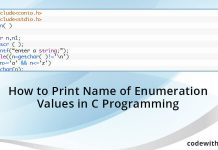 How-to-Print-Name-of-Enumeration-Values-in-C-Programming