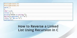 How-to-Reverse-a-Linked-List-Using-Recursion-in-C-programming