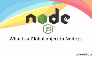 What is a Global object in Node.js?