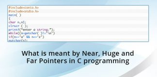 What-is-meant-by-Near,-Huge-and-Far-Pointers-in-C-programming