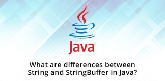 What are differences between String and StringBuffer in Java?