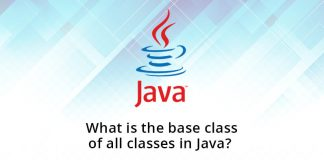 What is the base class of all classes in Java?