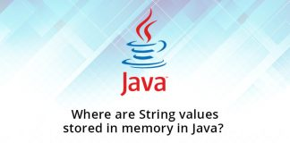 Where are String values stored in memory in Java?