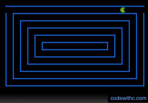 Pacman Game in C