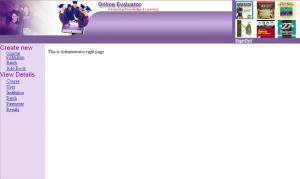 Online Examination Management System in Java