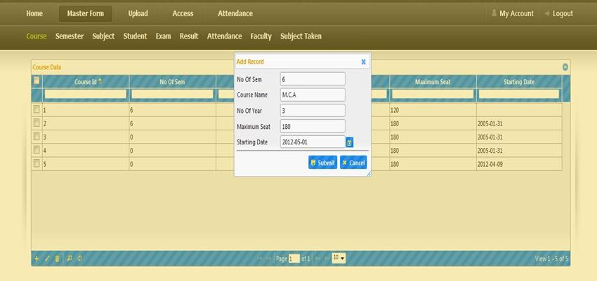Online College Management System PHP Project | Code with C