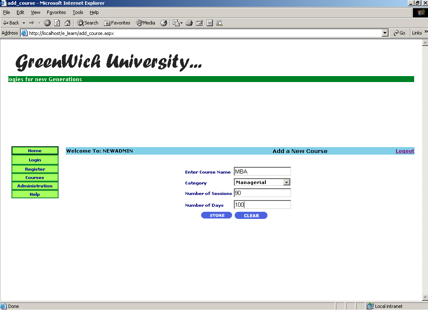 Online Student Management System Project