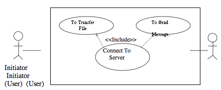 File Transfer and Chat Project in Java