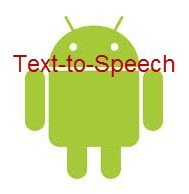 Text to Speech Android App