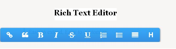 Online Text Editor Project