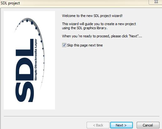 Setup SDL in CodeBlocks