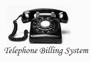 Telephone Billing System Project in Java
