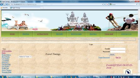 Smart City Project Java - travel search