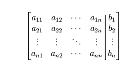 Gauss Jordan Method in MATLAB - Augmented Matrix