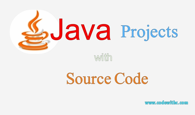35+ Java Projects with Source Code | Code with C