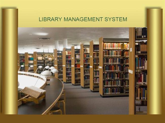Library Management System using Java