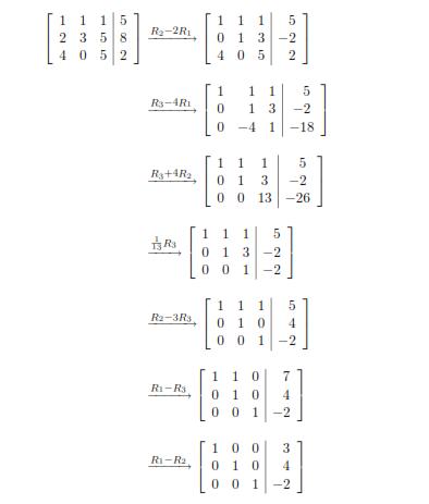 Gauss Jordan Method in MATLAB - Iteration