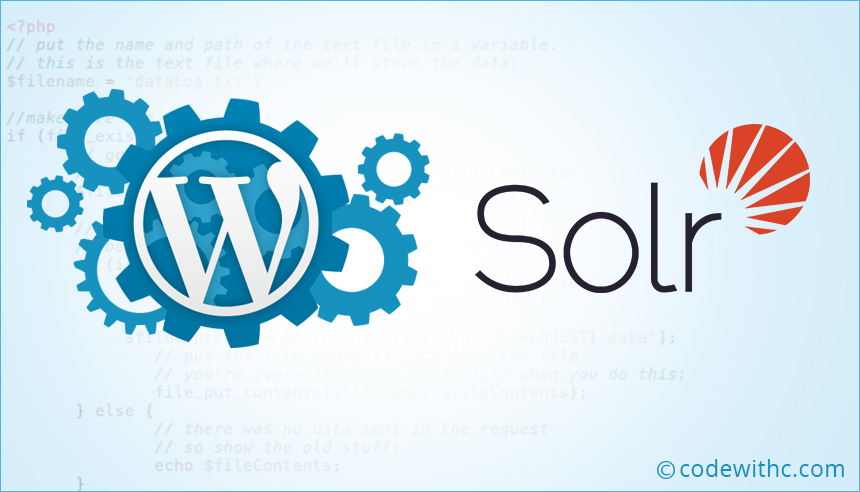 How to use Solr with Wordpress