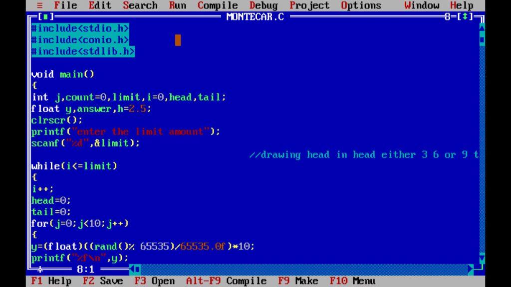 C Program: Simple Explanation On Monte Carlo Algorithm