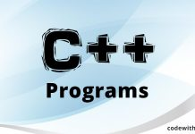 Learn C++ Programming codewithc