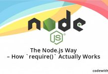 The Node.js Way - How `require()` Actually Works
