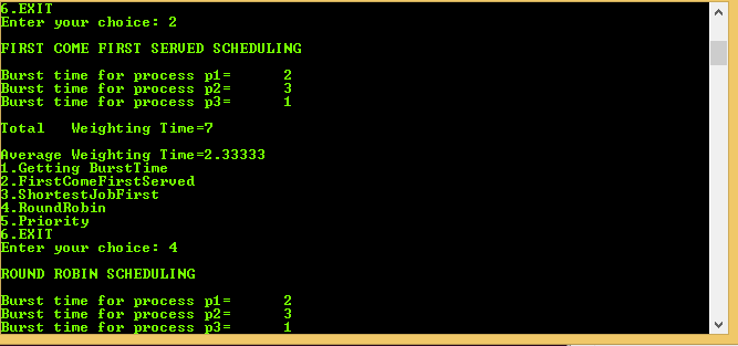 CPU Scheduling Program in C++ | Code with C