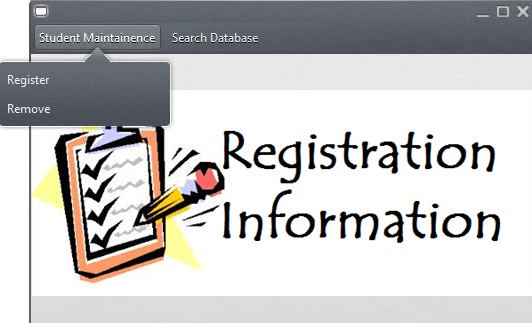 ASP NET Project: Online Student Registration System Using MS