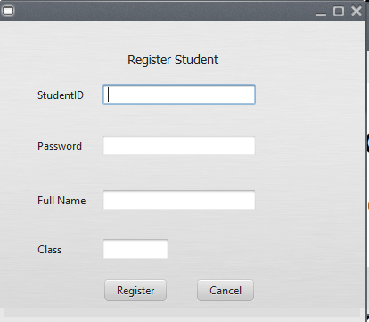 Student Record and Information System in Java and MySQL