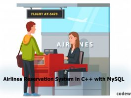Airlines-Reservation-System-in-C++-with-MySQL